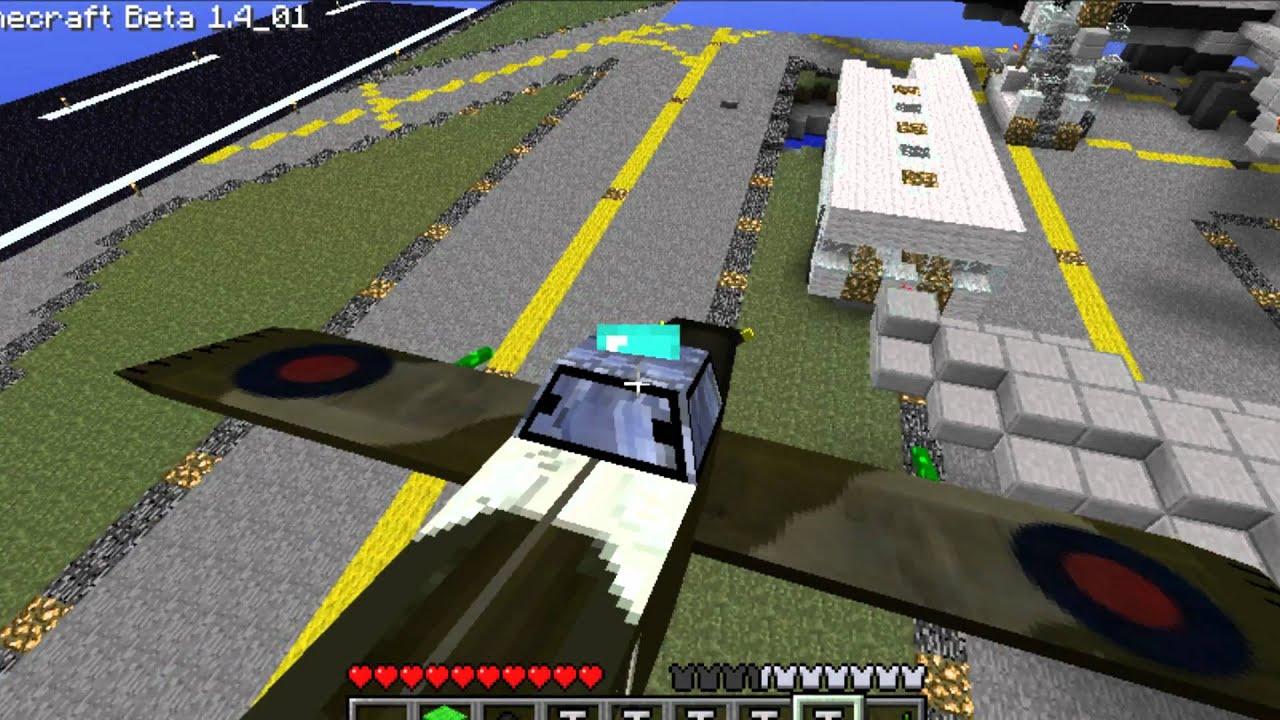 Minecraft Blueprint Mod Minecraft Plane Mod Spitfire
