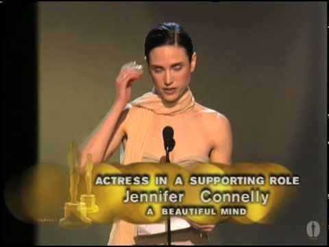 Jennifer Connelly winning Best Supporting Actress