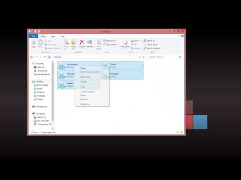 How to fix library-ms no longer working in Windows 8 and Windows 7