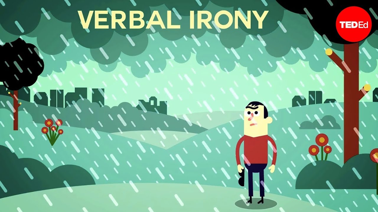 What Is Verbal Irony Christopher Warner Youtube