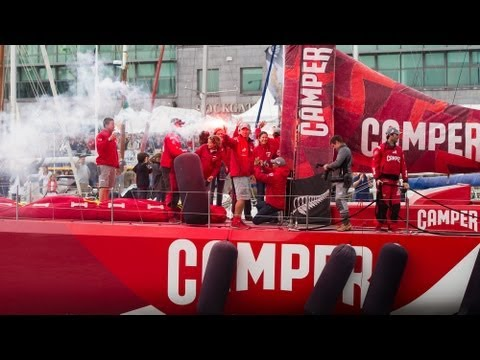 CAMPER with Emirates Team New Zealand Race Hightlights - Volvo Ocean Race 2011-12