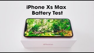 iPhone Xs Max | Battery Test | giffgaff