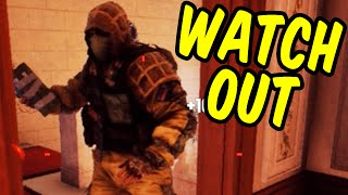 WATCH OUT! - Rainbow Six Siege Funny Moments & Epic Stuff