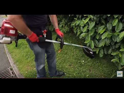 Petrol Brush Cutter / Strimmer Instructional Video - HSS Hire