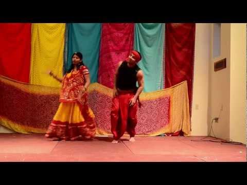 Indus Holi 2013 - Sneha & Raution's Bollywood Performance - Radha Kaise Na Jale (lagaan) - video