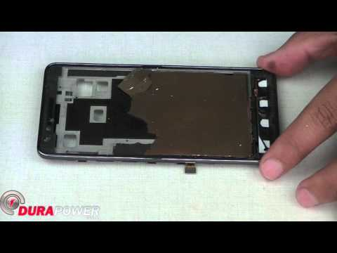 How to replace Samsung Galaxy S2 i777 Screen Assembly by Durapower Global