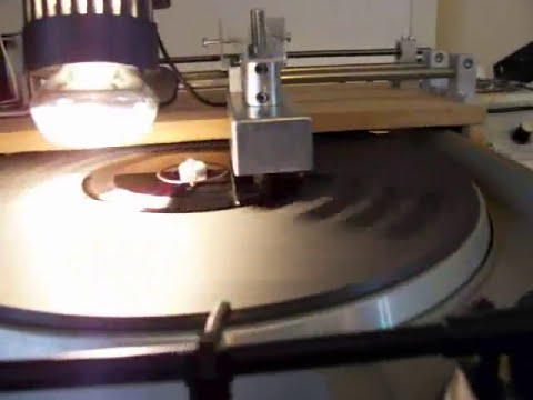 So I built a record lathe to cut my own records