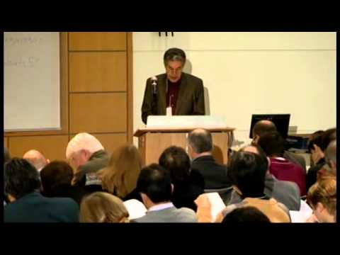 50 years of Linguistics at MIT, Lecture 1