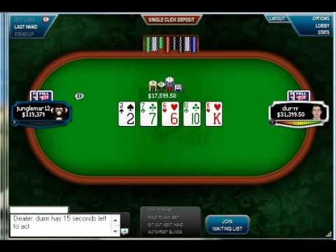 Jungleman owns Durrrr in 2nd match, up $700K