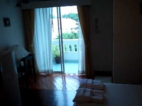 My hotel room in Pattaya, Thailand October 2010 650 baht per night.