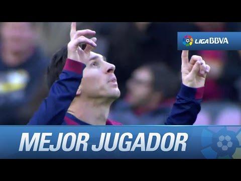 Leo Messi es el mejor jugador de la jornada por su partido frente al Levante UD