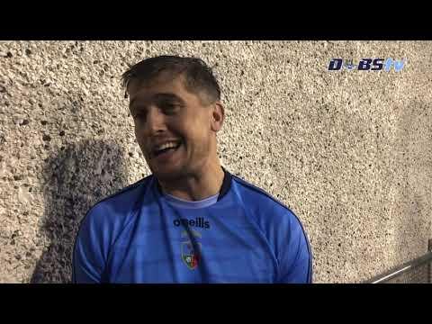 St Judes manager Gareth Roche speaks to Dubs TV