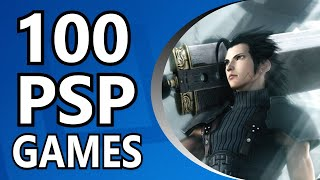 Top 100 PSP Games (Alphabetical Order)