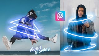Picsart Tutorial - Edit Neon Glowing (Shape)