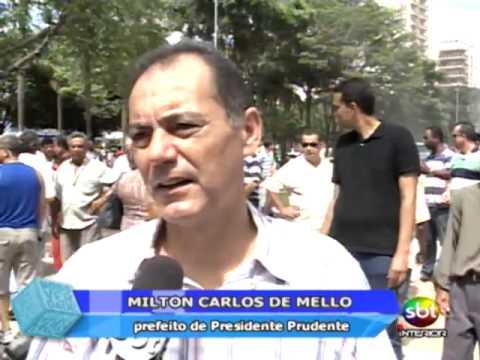 Praça 9 de Julho é reinaugurada em Presidente Prudente - Tele Verdade