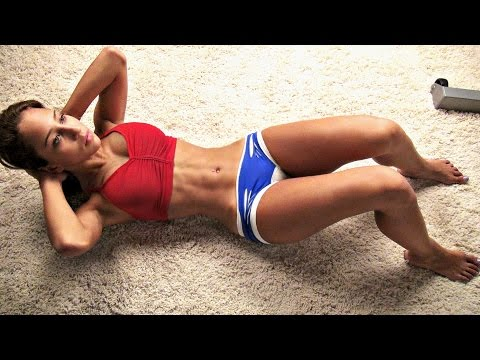 Girls Sexy Lean Stomach Workout! video