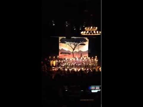 "Pacific Boychoir Academy -Live  singing ""Homeless""  by Paul SImon"