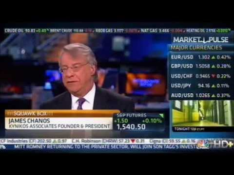 Jim Chanos: Chinese Real Estate Boom NOT Sustainable