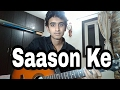 Saanson Ke Guitar Cover From Raees mp3