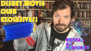 Disney Movie Club Exclusive Blu-ray Haul!