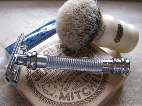 Intro to shaving with a DE safety razor