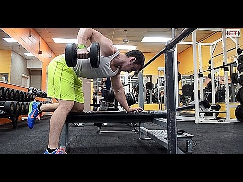Best Upper Back Exercise - Dumbbell Row Image 1