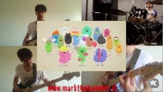 Dumb ways to die COVER ROCK (guitar, drums, bass)