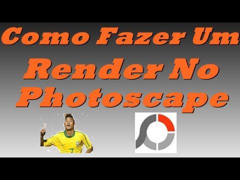 Como Fazer Um Render No Photoscape