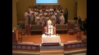 RBUMC Choir with Sonshine JAMS childrens choir, Big Mighty God