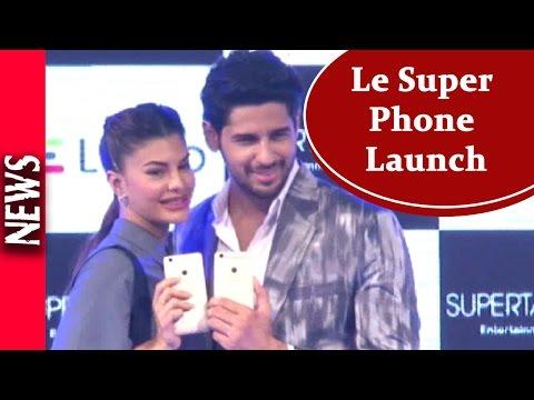 Latest Bollywood News - Jacky And Sid Launch Le Super Phone - Bollywood Gossip 2016