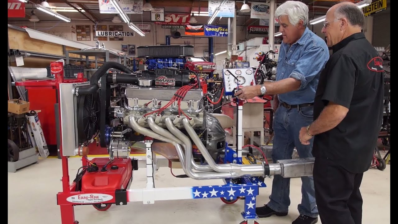 Engine Test Stands Jay Leno S Garage Youtube