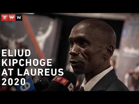 Eliud Kipchoge's message to South Africans: Believe in yourself and stretch your limits