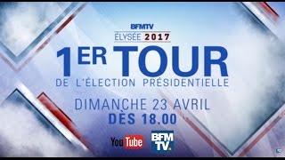 Live Présidentielle 2017 -1er Tour