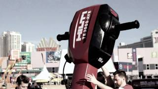 WATCH as Hilti rolls in to Las Vegas - World of Concrete 2011