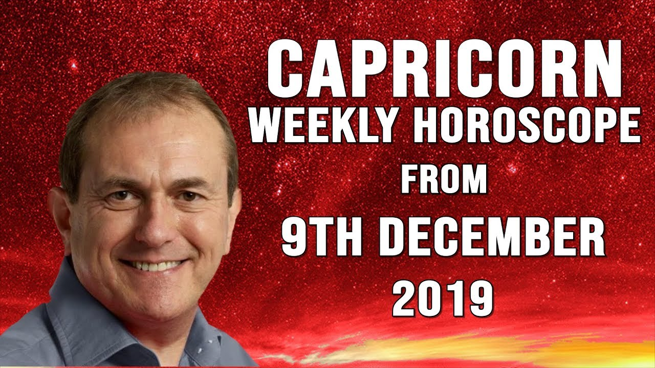 Weekly Horoscopes from 9th December 2019