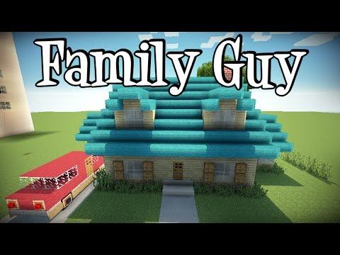 Tutoriais Minecraft: Como Construir a Casa do Family Guy