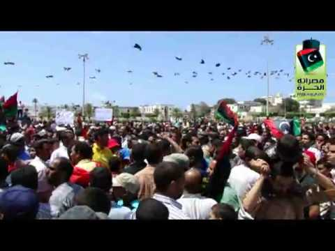 Misrata celebrates as the ICC issue arrest warrants on Gaddafi, Saif and Abdullah  Sanussi