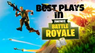 ✔Best plays in ◇ fortnite battle royal