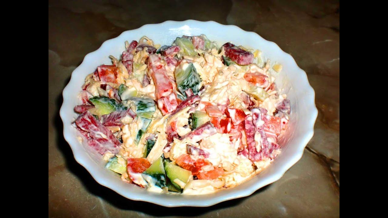Новогодние салаты рецепты недорогие простые вкусные быстро