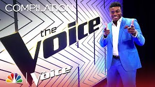 Kirk Jay 39 S Journey On The Voice The Voice 2018 Compilation