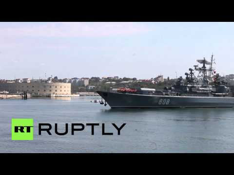 Russia: Pitlivy frigate departs Sevastopol for naval drills with China in the Med