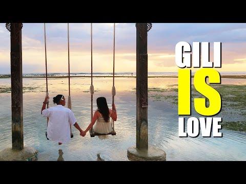 INDONESIA MOST BEAUTIFUL ISLAND   GILI TRAWANGAN 2016 #1