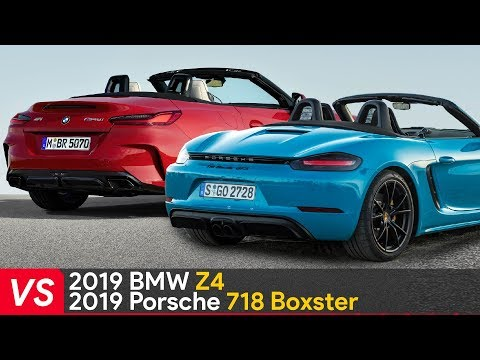 2019 BMW Z4 VS Porsche 718 Boxster ► Design & Specifications