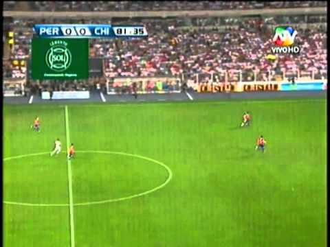PER vs. CHILE 1-0 22/03/13 Clasificatorias Brasil 2013 (ltimos 20' y el gol de Farfan)