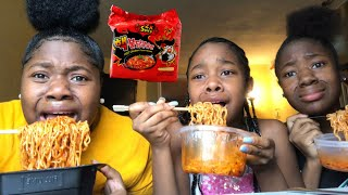 2X SPICY NOODLES CHALLENGE *I cried*