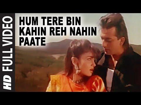 Hum Tere Bin Kahin Reh Nahin Paate Full Song | Sadak | Sanjay...