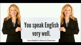 Basic English speaking practice