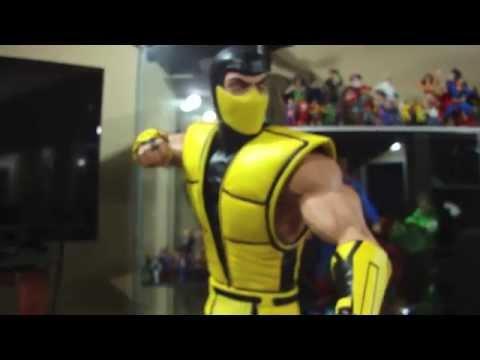 Scorpion Mortal Kombat Klassic Statue by Pop Culture Shock Collectibles