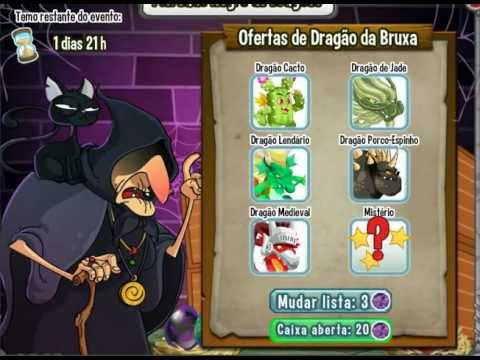 Watch Nãaaaaaaaaaaaooooo | Dragon city|Mercado negro de dragões da bruxa | Menos 20 joias