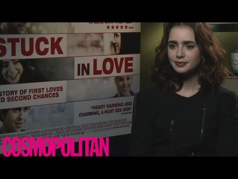 Lily Collins Stuck In Love interview: on eyebrows and Cara Delevingne, 2013